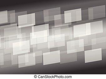 灰色, 抽象的, デジタルバックグラウンド, ライト