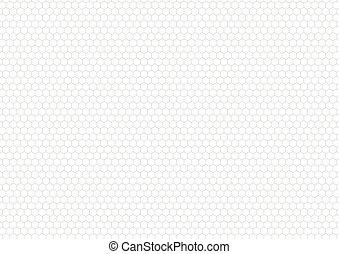 灰色, 格子, a4, 背景, 白, 六角形, 大きさ