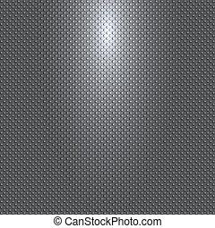 灰色, 源, パターン, 球, ベクトル, 黒い背景, ライト, ∥あるいは∥