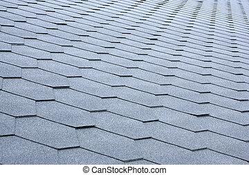 灰色, 瓷磚房頂