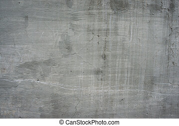 灰色, 石, 古い, 壁, 型, 手ざわり, コンクリート, セメント, 背景, 割れた, 汚い