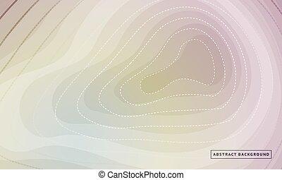 灰色, 背景。, 概念, ......的, 矢量, design., topographic 地圖, 外形, 背景。