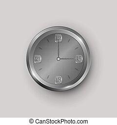 灰色, 鐘表面