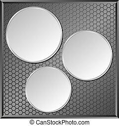 灰色, 面板