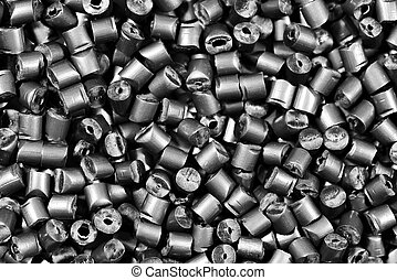 灰色, matallic, granulate, 重合体