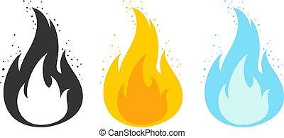 炎, ゲーム, テンプレート