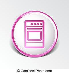 炎, 暖炉内部の棚, プレート, ストーブ, アイコン, 食事, 燃料, 台所, 電気である