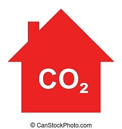 炭素, 家, 二酸化物