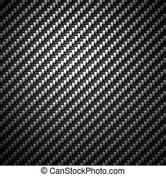 炭素, 材料, 背景, 繊維