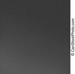 炭素, 繊維, 編まれる, しっかり