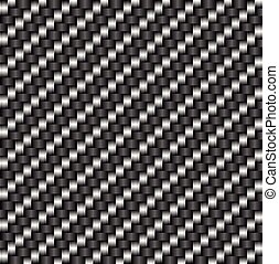 炭素, 繊維, tileable, パターン