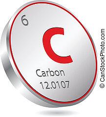 炭素, 要素