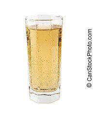 炭酸で飽和した飲み物, 柔らかい, ガラス