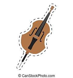 点を打たれた, クラシック, オーケストラ, 音楽, チェロ, 線