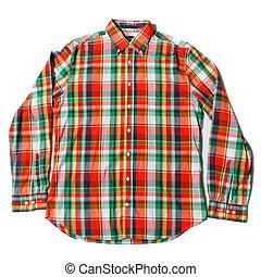 点検された ワイシャツ, カラフルである