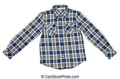 点検された ワイシャツ