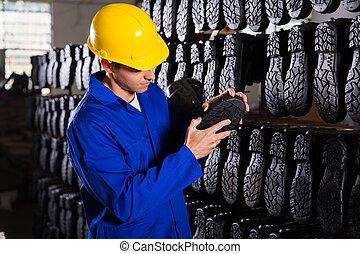点検, コントローラー, 底, 品質, rubber-boots