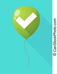 点検, balloon, 影, 長い間, 印