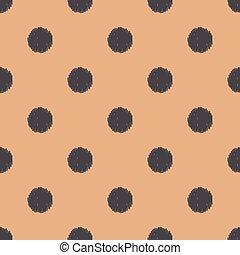 点, パターン, ポルカ, seamless