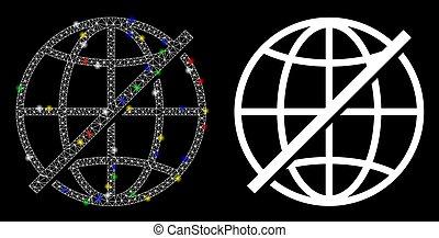 点, フレーム, 明るい, 噛み合いなさい, ない, 火炎信号, アイコン, 世界的である, ワイヤー