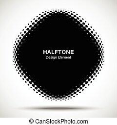 点, 広場, 角度, パターン, 抽象的, ゆがめられた, 新しい, halftone, バックグラウンド。, ベクトル...