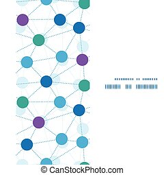 点, 縦, パターン, フレーム, seamless, ベクトル, 接続される, 背景