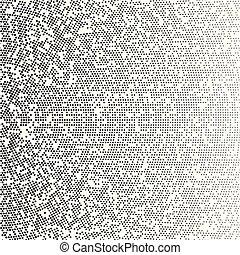 点, structure., 放射状, 点を打たれた, 勾配, 現代, 手ざわり, halftone, halftone, バックグラウンド。, ベクトル, パターン, テンプレート, デジタル