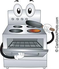 烤爐, 吉祥人