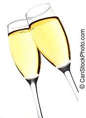 烤面包, 香檳酒