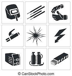 焊接, 收集, 图标