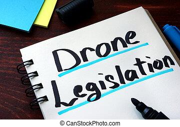 無人機, 立法