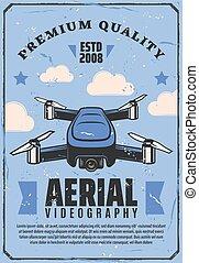 無人機, 航空写真, カメラ, videography, quadcopter