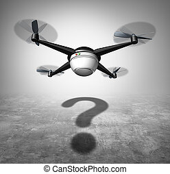 無人機, 質問