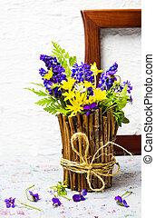 無作法, 春の花, カラフルである, つぼ