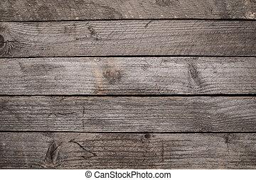 無作法, 木製のテーブル