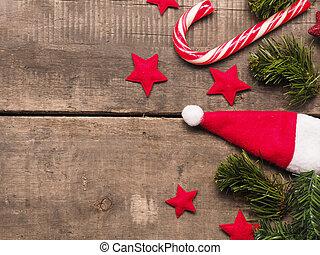 無作法, 装飾, 木, クリスマス