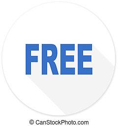 無料で, 現代, アイコン, デザイン, 平ら