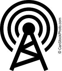 無線, 塔