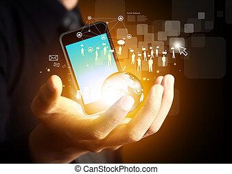 無線, 媒体, 現代 技術, 社会