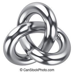 無限, 抽象的な形, 結び目, ループ