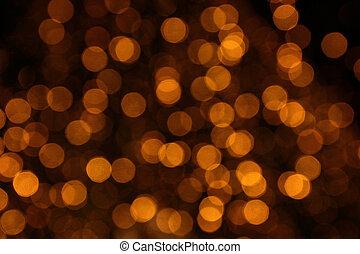 焦点がぼけている, 抽象的, 背景, ライト, ∥において∥, night.