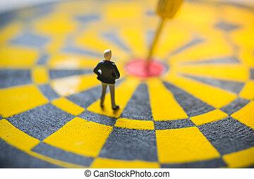 焦点を合わせなさい。, 概念, ターゲット, ビジネス