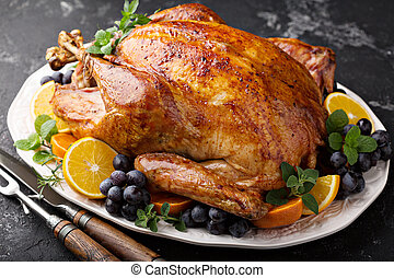 焼かれた, そっくりそのまま, 感謝祭トルコ