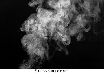 煙, 暗やみに