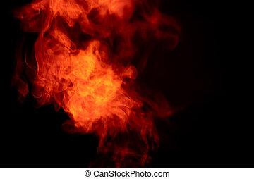 煙, 暗やみに, フィルターされた