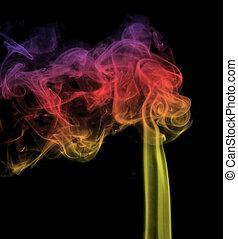 煙, 有色人種