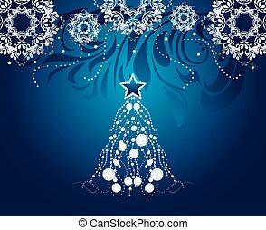照ること, クリスマスツリー
