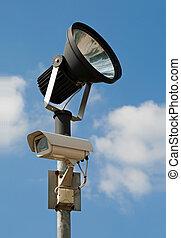 照像機, 監視