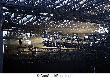 照明, コンサート