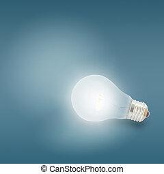 照明, 燈泡, 光